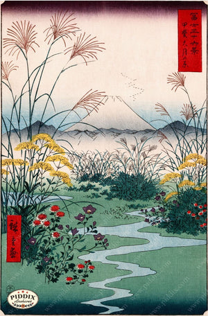 Japanese Woodblocks 1850S Pdxc5844 Color Illustration