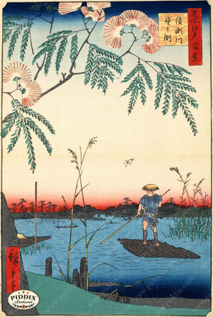 Japanese Woodblocks 1850S Pdxc5851B Color Illustration