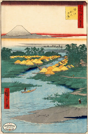 Japanese Woodblocks 1850S Pdxc5855 Color Illustration