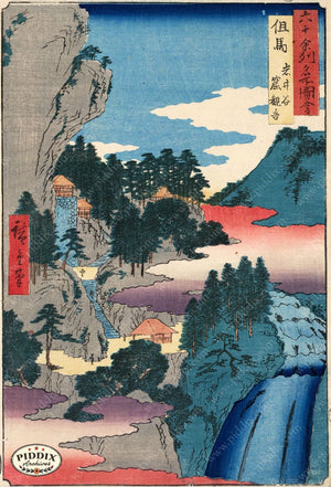 Japanese Woodblocks 1850S Pdxc5860 Color Illustration