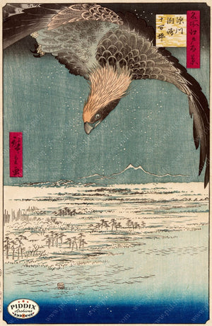 Japanese Woodblocks 1850S Pdxc5864 Color Illustration