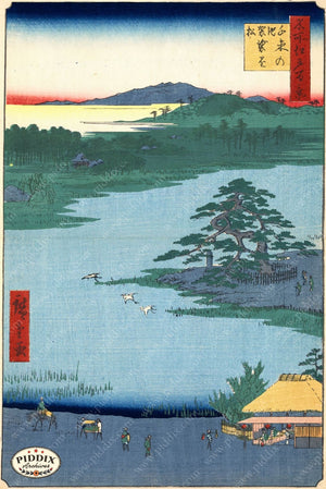 Japanese Woodblocks 1850S Pdxc5869 Color Illustration