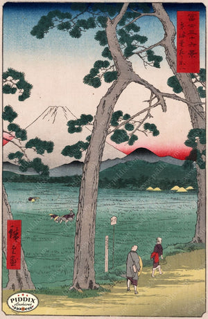 Japanese Woodblocks 1850S Pdxc5882 Color Illustration