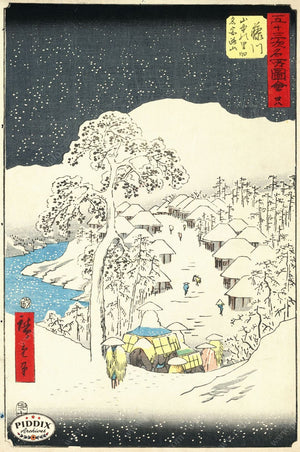 Japanese Woodblocks 1850S Pdxc5887 Color Illustration