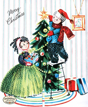 PDXC10002a -- Christmas Color Illustration