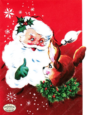 Pdxc10022A -- Santa Claus Color Illustration
