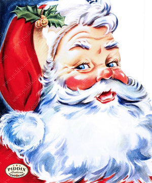 Pdxc10040A -- Santa Claus Color Illustration