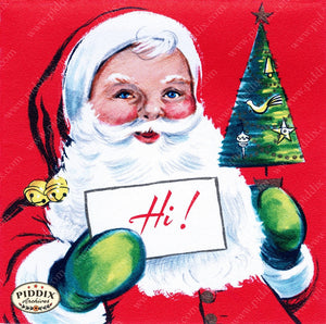 Pdxc10042A -- Santa Claus Color Illustration