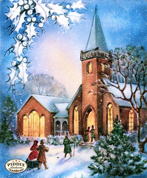 Pdxc10045A -- Snowy Scenes Color Illustration