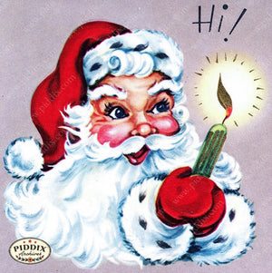 PDXC10063a-- Santa Claus Color Illustration