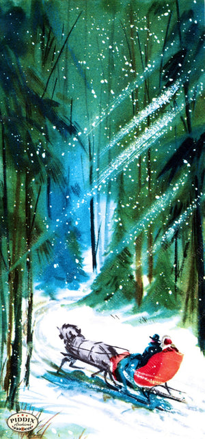 Pdxc10081A -- Snowy Scenes Color Illustration