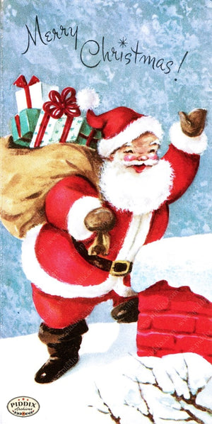 Pdxc10100A -- Santa Claus Color Illustration