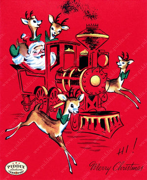 Pdxc10105A -- Santa Claus Color Illustration