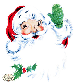 Pdxc10113B -- Santa Claus Color Illustration