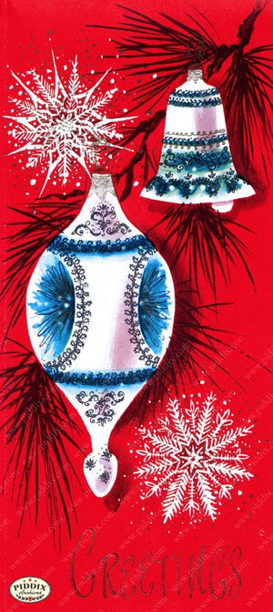 Pdxc10128A -- Christmas Ornaments Color Illustration