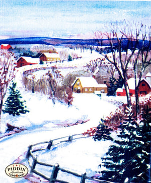 Pdxc10155 -- Snowy Scenes Color Illustration