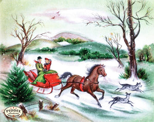 Pdxc10156 -- Snowy Scenes Color Illustration
