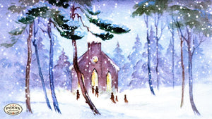 Pdxc10160 -- Snowy Scenes Color Illustration