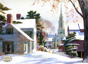 Pdxc10171 -- Snowy Scenes Color Illustration