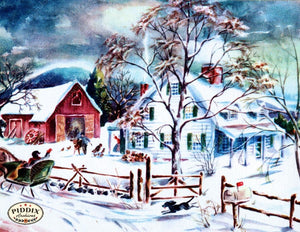 Pdxc10175 -- Snowy Scenes Color Illustration