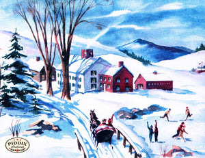 Pdxc10179 -- Snowy Scenes Color Illustration