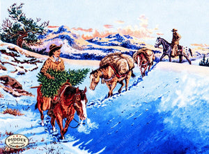 Pdxc10184 -- Snowy Scenes Color Illustration