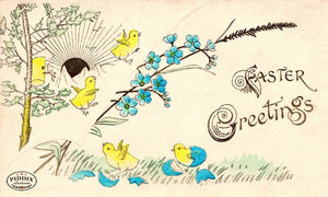 Pdxc10221-- Easter Postcard