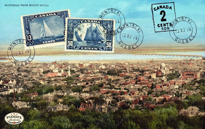 Pdxc10246 -- Travel Postcards Original Collage