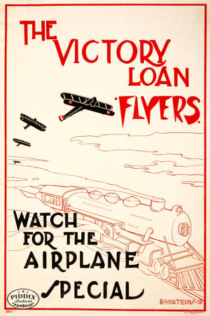 Pdxc10832 -- Airplanes Poster