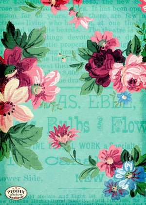 Pdxc10875 -- Original Flower Collages Original Collage