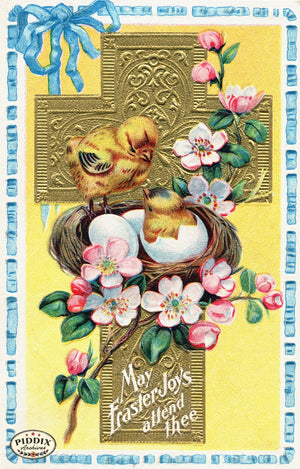 Pdxc10894-- Easter Postcard
