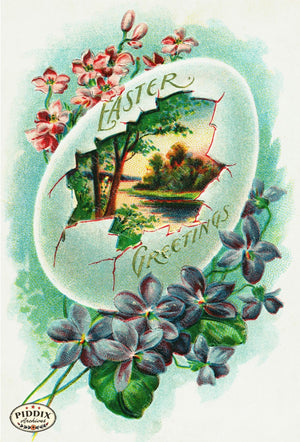 Pdxc10911-- Easter Postcard