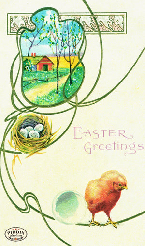 Pdxc10916-- Easter Postcard
