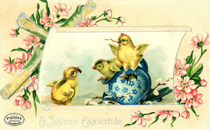 Pdxc10932-- Easter Postcard