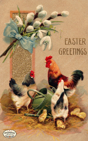 Pdxc10933-- Easter Postcard