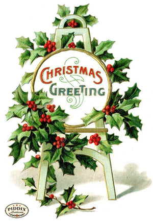 Pdxc10998 -- Christmas Greens Color Illustration