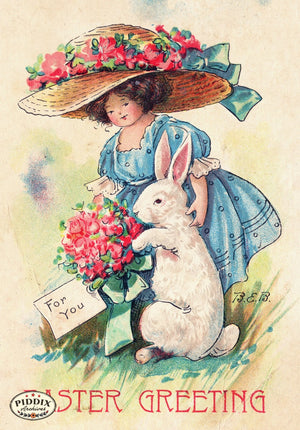 Pdxc11000-- Easter Postcard