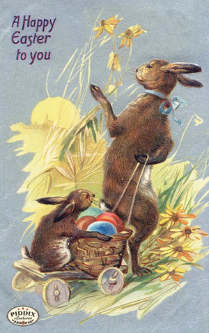 Pdxc11005 -- Easter Postcard