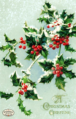 Pdxc11133 -- Christmas Greens Color Illustration