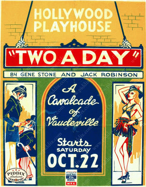 Pdxc11344 -- Vintage Theatre Posters Poster