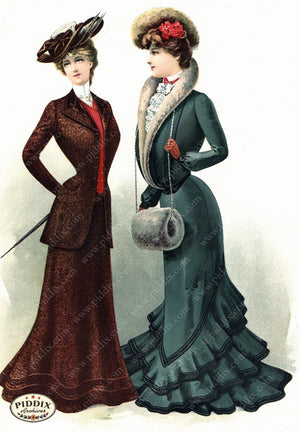 Pdxc11651 -- American Fashion Color Illustration