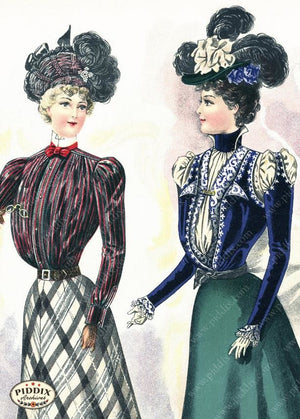 Pdxc11655 -- American Fashion Color Illustration