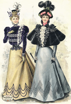 Pdxc11656 -- American Fashion Color Illustration