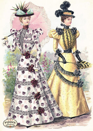 Pdxc11658 -- American Fashion Color Illustration