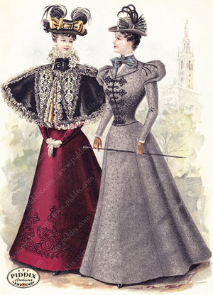 Pdxc11659 -- American Fashion Color Illustration