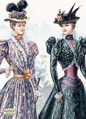 Pdxc11660 -- American Fashion Color Illustration