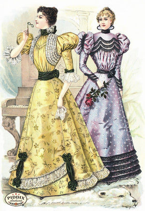 Pdxc11661 -- American Fashion Color Illustration
