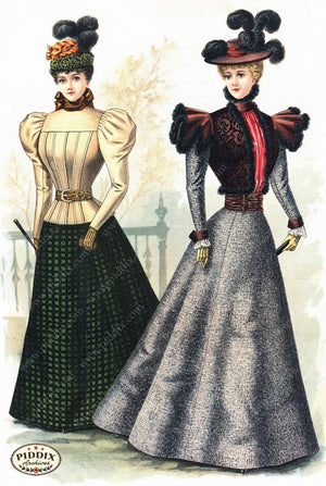 Pdxc11662 -- American Fashion Color Illustration