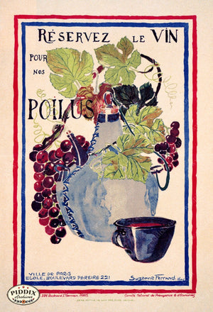 Pdxc11731 -- Alcohol & Wine Poster