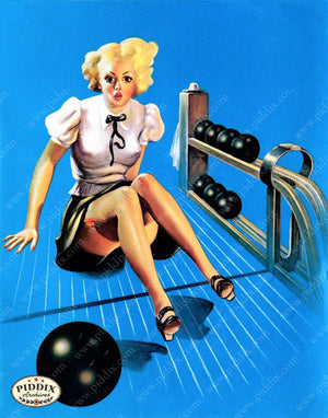 Pdxc11790A -- Pin-Ups Color Illustration